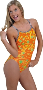 Dolfin Uglies V-2 Back Swimsuit