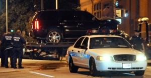 Phelps Car Crash - AP Photot
