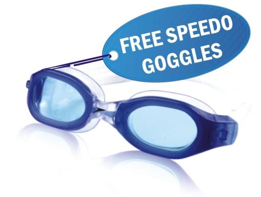 Free Speedo Goggles