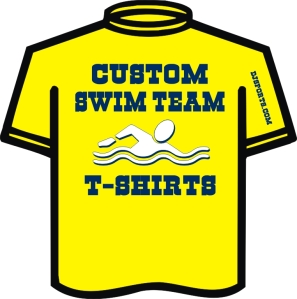 Custom Swim Team T-shirt