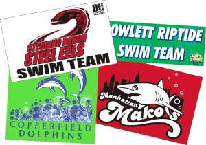 Swim Team Banners
