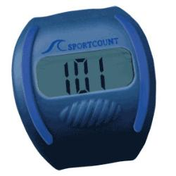 Count Laps While Swimming With A Finger Lap Counter