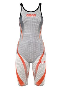 Arena Carbon Pro Kneeskin in white