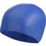 Learn the advantages of latex swim caps.