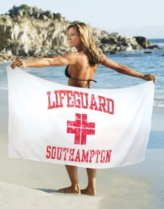 Increase team spirit with custom swim team towels.