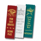 Give children a self-esteem boost with customized swim meet ribbons.