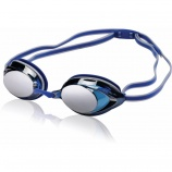 Protect your eyes with outdoor swimming goggles.