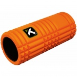 Ease soreness with a trigger point grid foam roller.