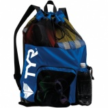 You should have printed swim team mesh gear bags for all your gear.