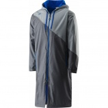 Swimmers will love the Speedo color block parka.