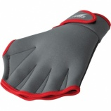 Increase your strength with water fitness gloves.