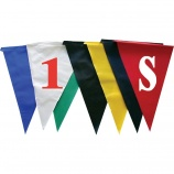 Create a professional look with custom backstroke flags.