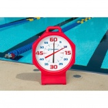 Upgrade your swimming pace clock.