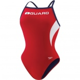 Look great at your new summer job with Speedo lifeguard swimsuits.