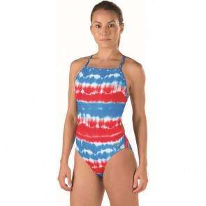 Show your pride with the American flag suit.