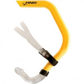 Use a swimming snorkel to improve your swimming.