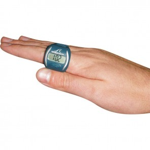 Track your progress with a lap swim counter.