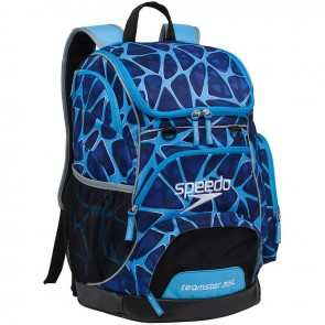 Speedo swimwear and your Speedo backpack can match.