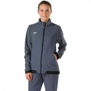 Wear a quality Speedo warm up jacket on the sidelines.
