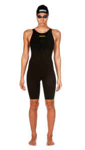 A competitive swimmer needs more than performance swimwear.