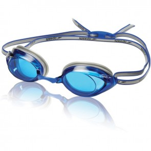Speedo swimming goggles allow you to see easily in the water.